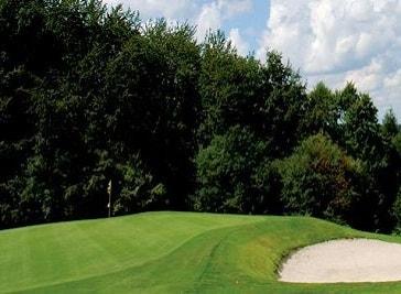 Public. Golf course on Mollenkotten Wuppertal in Wuppertal